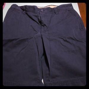 Men's Dark Blue Shorts - IZOD Saltwater